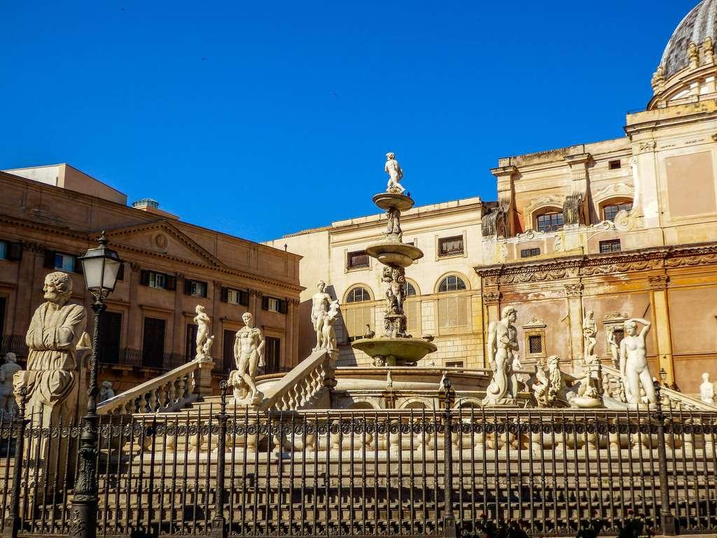 4 canti fountain Palermo