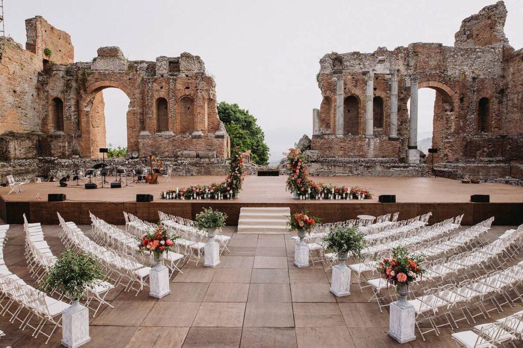 Wedding in Taormina Ancient Theatre